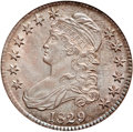 Bust Half Dollars, 1829 50C Small Letters MS64 NGC. O-117, R.2....