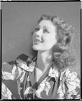 """Movie Posters:Miscellaneous, Loretta Young by John Engstead (1940). Eastman Kodak Safety Negative (8"""" X 10""""). Miscellaneous.. ..."""
