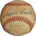Baseball Collectibles:Balls, 1955 New York Yankees Team Signed Baseball....
