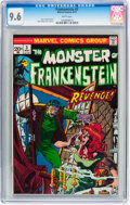 Bronze Age (1970-1979):Horror, Frankenstein #3 (Marvel, 1973) CGC NM+ 9.6 White pages....