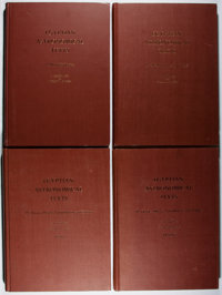 [Ancient Egypt]. O. Neugebauer and Richard A. Parker. Egyptian Astronomical Texts. Brown Univer
