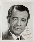 Autographs:Celebrities, Walter Matthau (1920-2000, American Film Actor). InscribedPhotograph to Ted Gunderson, Former Head of the FBI in LosAngeles....