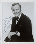 Autographs:Celebrities, Jack Lemmon (1925-2001, American Film Actor). Inscribed Photographto Ted Gunderson, Former Head of the FBI in Los Angeles. ...