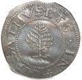 Colonials, 1652 SHILNG Pine Tree Shilling, Large Planchet AU50 PCGS. CAC.Noe-1, W-690, Salmon 1-A, R.2....