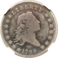 Early Half Dollars, 1794 50C -- Graffiti -- NGC Details. Good. O-106, Low R.6....
