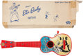 Music Memorabilia:Instruments , Elvis Presley Ukette with Original Box (Selcol, c. 1957)....