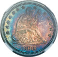 Proof Seated Quarters, 1882 25C PR66 ★ NGC....