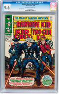 Silver Age (1956-1969):Western, Mighty Marvel Western #1 (Marvel, 1968) CGC NM+ 9.6 Off-white towhite pages....