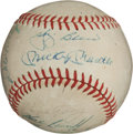 Autographs:Baseballs, 1963 New York Yankees Team Signed Baseball....