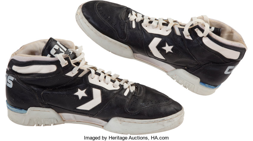 1b4cd358d0c Late 1980 s Larry Bird Game Worn Shoes. ... Basketball Collectibles ...