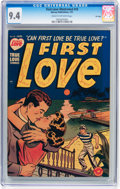Golden Age (1938-1955):Romance, First Love Illustrated #10 File Copy (Harvey, 1951) CGC NM 9.4 Off-white to white pages....