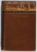 Books:Literature Pre-1900, William Dean Howells. The Lady of the Aroostook. Houghton, 1879. First edition. In original binding. Spine a bit wor...