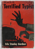 Books:Mystery & Detective Fiction, Erle Stanley Gardner. The Case of the Terrified Typist.Morrow, [1956]. First edition. In price-clipped dj. Jacket s...