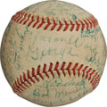 Autographs:Baseballs, 1940's Hall of Famers Multi-Signed Baseball with Eighteen Pre-War Hall of Famers....