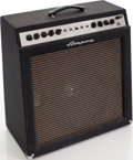 Musical Instruments:Amplifiers, PA, & Effects, Mid 1960s Ampeg Gemini II Navy Blue Guitar Amplifier. ...