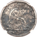 Seated Half Dollars, 1870-CC 50C -- Environmental Damage -- NGC Details. AU....