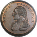Colonials, (1795) Washington Liberty & Security Penny MS65 Brown PCGS. CAC. Baker-30, W-11050, R.2....