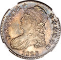 Bust Half Dollars, 1828 50C Square Base 2, Small 8, Small Letters AU58 NGC. O-119,R.3....