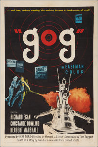 "Gog (United Artists, 1954). One Sheet (27"" X 41""). Science Fiction"
