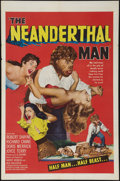 """Movie Posters:Horror, The Neanderthal Man (United Artists, 1953). One Sheet (27"""" X 41""""). Horror.. ..."""