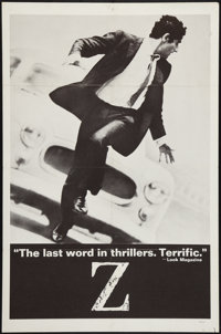 "Z (Cinema 5, 1969). One Sheet (27"" X 41""). Thriller"