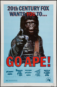 "Go Ape! (20th Century Fox, 1974). One Sheet (27"" X 41""). Science Fiction"