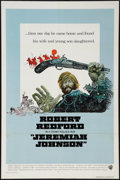 "Movie Posters:Western, Jeremiah Johnson (Warner Brothers, 1972). International One Sheet (27"" X 41""). Western.. ..."