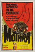 "Movie Posters:Science Fiction, Mothra (Columbia, 1962). One Sheet (27"" X 41""). Science Fiction.. ..."