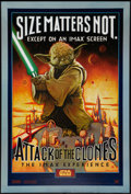 """Movie Posters:Science Fiction, Attack of the Clones: The IMAX Experience (20th Century Fox, 2002). One Sheet (27"""" X 40"""") DS. Science Fiction.. ..."""