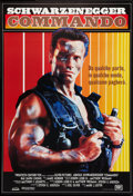 "Movie Posters:Action, Commando (20th Century Fox, 1985). Italian One Sheet (26.75"" X 39"") SS. Action.. ..."