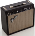 Musical Instruments:Amplifiers, PA, & Effects, 1966 Fender Champion Black Guitar Amplifier, Serial # A09264....