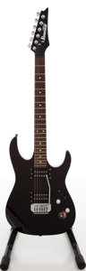 Musical Instruments:Electric Guitars, 2000s Ibanez Gio GRX H-H Black Solid Body Electric Guitar....