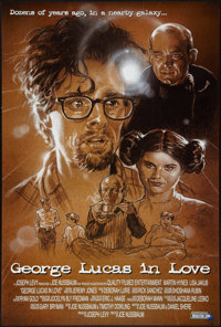 "George Lucas in Love (MediaTrip.com, 1999). One Sheet (27"" X 40""). Science Fiction"