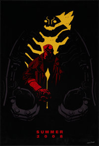 """Hellboy II: The Golden Army (Universal, 2008). Limited Edition Comic-Con One Sheet (27"""" X 40"""") SS Advance. Act..."""