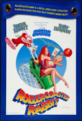 "Movie Posters:Animation, Roller Coaster Rabbit (Buena Vista, 1990). Autographed One Sheet (27"" X 40"") DS. Animation.. ..."