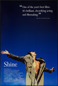 """Shine (Fine Line Features, 1996). One Sheet (27"""" X 40"""") SS. Drama"""
