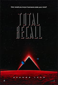 "Movie Posters:Science Fiction, Total Recall (Tri-Star, 1990). One Sheet (27"" X 40"") SS Advance. Science Fiction.. ..."