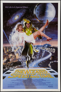 """The Wizard of Speed and Time (Hollywood Wizard Ltd., 1988). One Sheet (27"""" X 41""""). Comedy"""