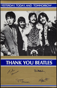 "The Beatles: Yesterday, Today and Tomorrow (1980s). Personality Poster (22.5"" X 35""). Rock and Roll"
