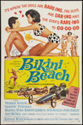 "Movie Posters:Comedy, Bikini Beach (American International, 1964). One Sheet (27"" X 41""). Comedy.. ..."