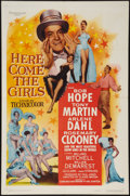 "Movie Posters:Comedy, Here Come the Girls (Paramount, 1953). One Sheet (27"" X 41""). Comedy.. ..."