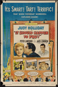 "Movie Posters:Comedy, It Should Happen to You! (Columbia, 1954). One Sheet (27"" X 41""). Comedy.. ..."