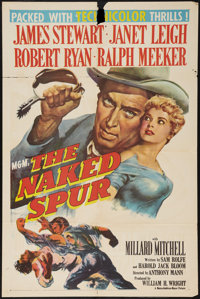 "The Naked Spur (MGM, 1953). One Sheet (27"" X 41""). Western"