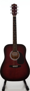 Musical Instruments:Acoustic Guitars, 1990s Johnson JG-610-K Cherryburst Acoustic Guitar, Serial # 3292....