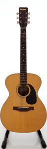 Musical Instruments:Acoustic Guitars, 1970s Univox U-3012 Natural Acoustic Guitar. ...