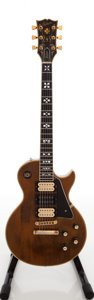 Musical Instruments:Electric Guitars, 1977 Gibson Les Paul Artisan Natural Solid Body Electric Guitar,Serial # 06204425....