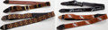Musical Instruments:Miscellaneous, Vintage Fender Guitar Strap Lot of 4...