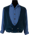 Music Memorabilia:Costumes, Elvis Presley Personally-Owned and Worn Shirt Gifted to His ValetRichard Davis. ...