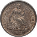 Seated Half Dimes: , 1872-S H10C Mintmark Above Bow MS64 PCGS. PCGS Population (43/40).Numismedia Wsl. Price for problem fr...