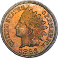 Proof Indian Cents, 1886 1C Type Two PR66 Brown PCGS....
